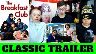 The Breakfast Club Official Trailer (1985) Reaction!!!