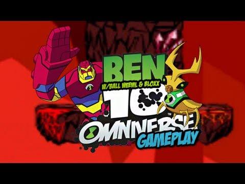 Ben 10 Omniverse: Game Creator Gameplay w/Ball Weevil & Bloxx *HD*