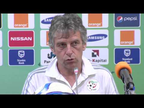 Algérie - Conférence de presse (31/01) - Orange Africa Cup of Nations, EQUATORIAL GUINEA 2015