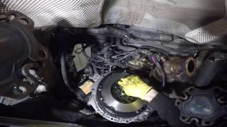 Audi A4 1.8T 2002 (B6) Clutch installation