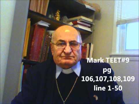 Assyrian Bible Mark TEET #9