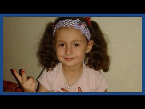 Raghat, a five-year-old who died in a Russian airstrike on Syria
