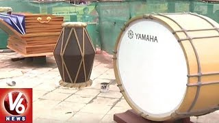 GHMC Decked Up Sangeeth Junction With Musical Instruments