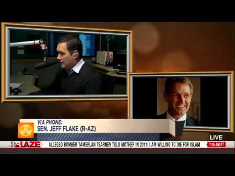 Senator Jeff Flake - TheBlazeTV - The Glenn Beck Radio Program - 201304.25
