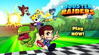 BOOSTER RAIDERS - Real-time Multiplayer Race Gameplay Trailer NEW ANDROID GAMES on GplayG