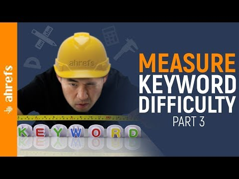 How to Measure Keyword Difficulty and Rank on Google