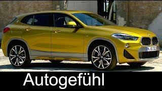 BMW X2 PREVIEW Exterior/Interior M Sport X all-new SUV Coupé - Autogefühl
