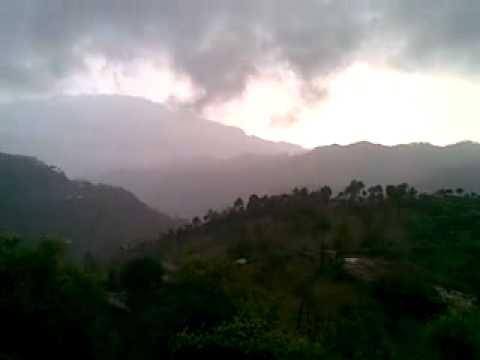 After rain fall in kashmir