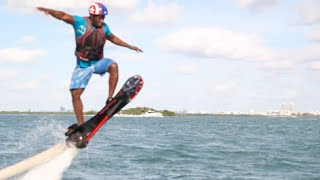 [Riding a Real Life Hoverboard] Video