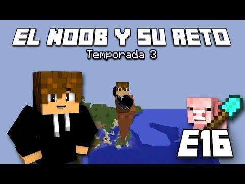 EL GRAN PISCINAZO!!! E16 El Noob y su Reto 3 - [LuzuGames]