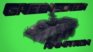Cod vehicles animation | Green Screen