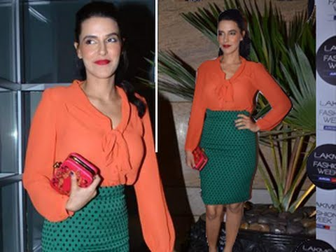 Neha Dhupia's DOUBLE TROUBLE