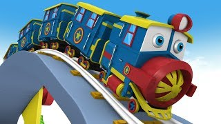 Kids Cartoon Train - Kids Videos for Kids - Thomas The Train - Choo Choo Train - Toy Factory