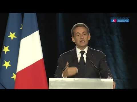 Discours de Nicolas Sarkozy à Paris
