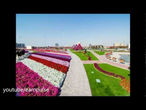 Dubai Miracle Garden largest natural garden of flowers in the world