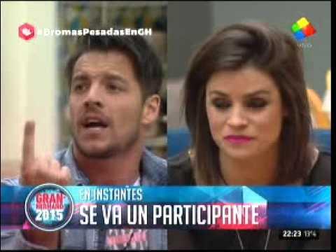 """#GH2015: Francisco a Camila: """"La gente te va a volver a sacar"""""""
