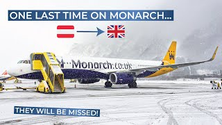 TRIPREPORT | Monarch Airlines (ECONOMY) | Innsbruck - London Gatwick | Airbus A321