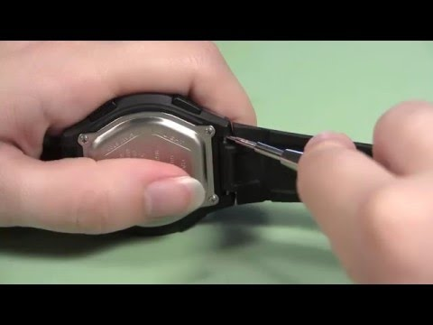 How to Change a Rubber Sport Watch Band