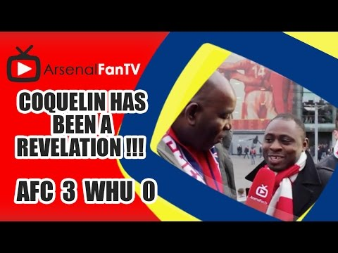 Coquelin Has Been A Revelation !!!  | Arsenal 3 West Ham 0
