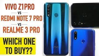 Vivo Z1Pro Full Comparison: Camera Test | PUBG | Battery | Vs Realme 3 Pro, Redmi Note 7 Pro