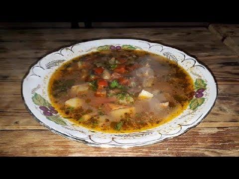 Узбекский суп - Мастава