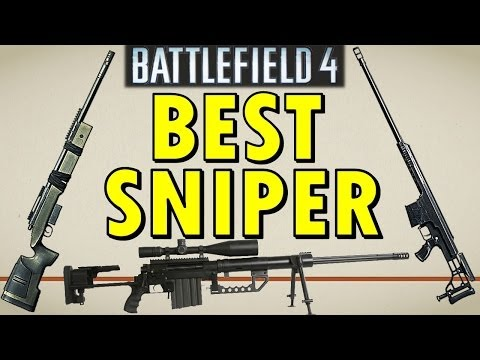 BEST SNIPER RIFLE in Battlefield 4!