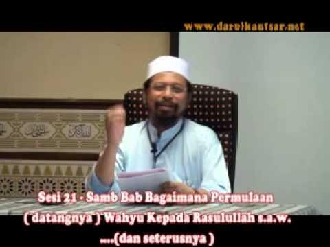 Sahih Bukhari Kitab Wahyu - Sesi 21 - 061013