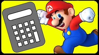 Working Calculator Level in Super Mario Maker