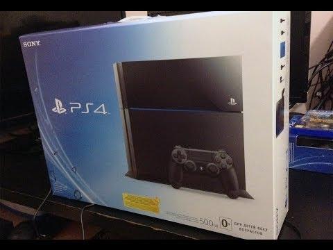► РАСПАКОВКА КОРОБКИ с НОВЫМ PS4 и первый запуск / Lord Iron Heart Voodoo / Unboxing PlayStation 4