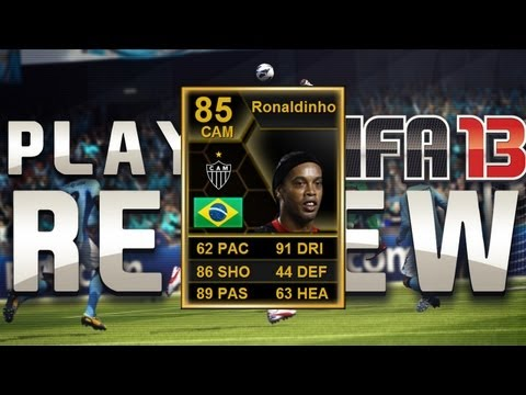 FIFA 13 - SIF RONALDINHO Review - Still Simply the Best!!