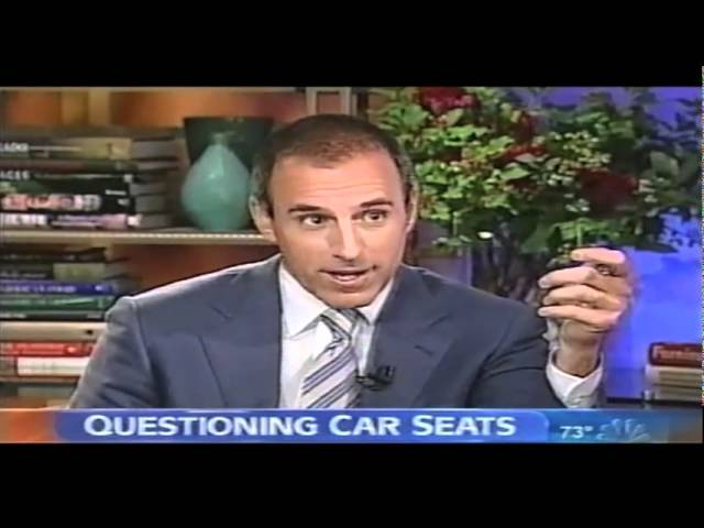 Questioning Child Car Seats: The Today Show