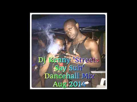 DJ KENNY STREETS SAY SUH DANCEHALL MIX AUG 2014
