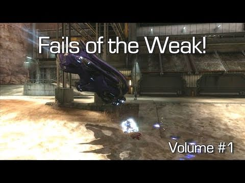 Fails of the Weak - Volume #1 (Funny Halo Reach Bloopers)