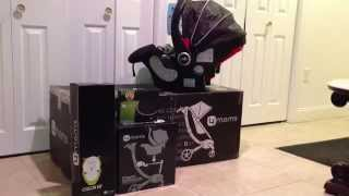The 4moms Origami Stroller And Graco Snugride 35 Hathaway (black)