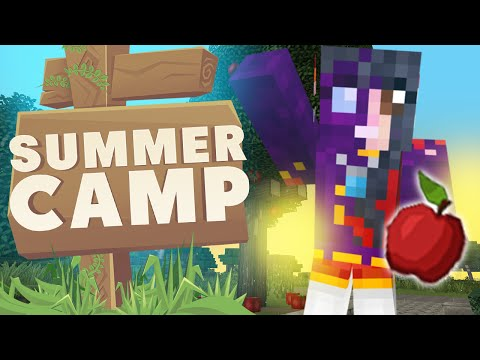 MINECRAFT SUMMER CAMP! Apple Trees!