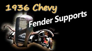 Modifying the Fender Supports on 1936 Chevy Coupe