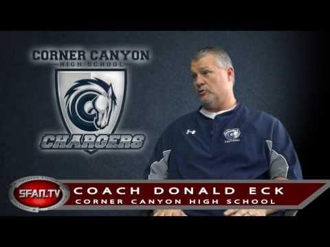 Corner Canyon High School Football Coach Don Eck - Interview