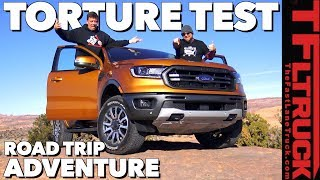 1,100 Miles On and Off-Road - Can The New 2019 Ford Ranger Do it All?