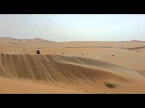 Desert Dune Bad Crash Abu Dhabi Desert Challenge