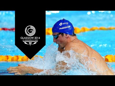 Swimming: Men's 100m Breaststroke - Day 2 Highlights Part 2 | Glasgow 2014 video