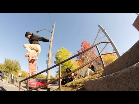 Ethernal Skate Films / Chris Pedneault X Afternoon skateboarding session in Montreal (Canada)