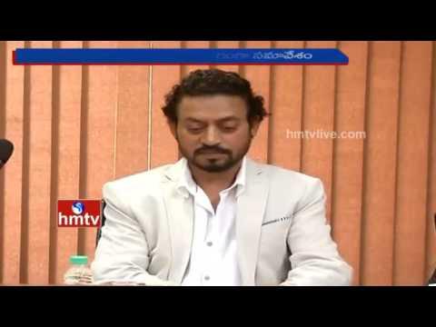 Bollywood Actor Irrfan Khan Meets Arvind Kejriwal Amid 'Madaari' Promotions | Delhi | HMTV