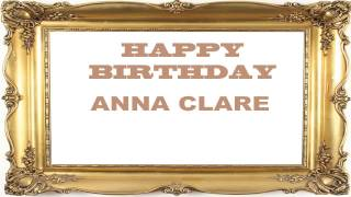 Anna Clare   Birthday Postcards & Postales