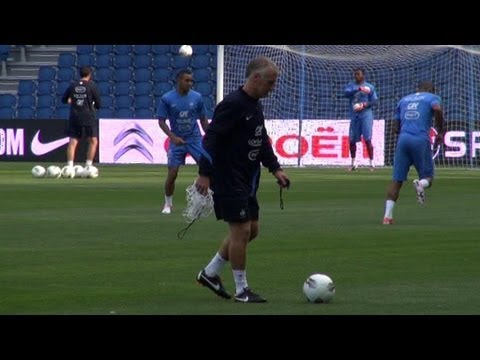Match amical : premier test pour Didier Deschamps