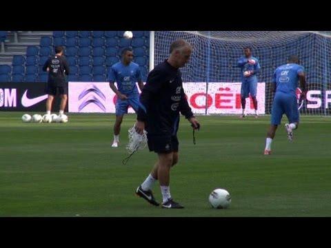 Match amical : premier test pour Didier Deschamps