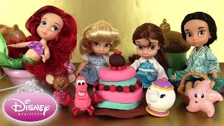 Poupées Disney Princesses Animators' Collection Dolls Play Doh Cendrillon Ariel Belle Jasmine