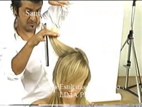 santos peluqueria  cel 992018780  lince  video tony and guy