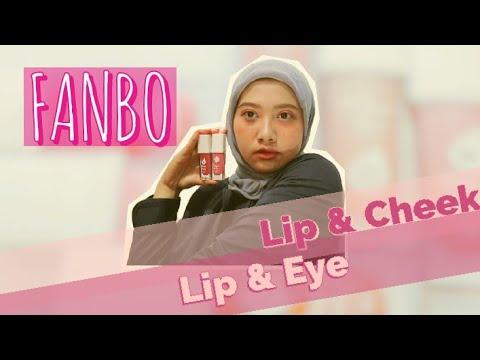 Swatches Lip Cream Lokal //Fanbo Perfect Pairs Lip & Cheek-Lip & Eye - YouTube