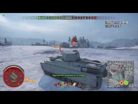 World of Tanks Xbox one O-Ni 6 Kills