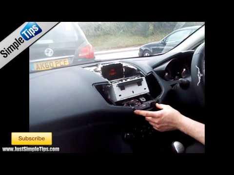 Radio Removal Ford Fiesta MK7 (2009-2013)   JustAudioTips